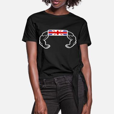 Jack Union Jack - Women's Knotted T-Shirt