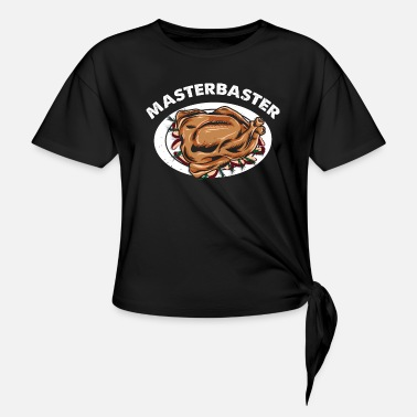 MasterBaster Truthahn Schmecker Thanksgiving Shirt - Knotenshirt