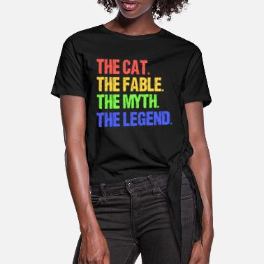 Fable The Cat - The Fable - Women's Knotted T-Shirt
