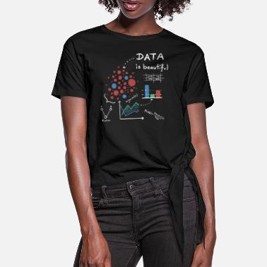 Data Data is beautiful! - Frauen Knotenshirt
