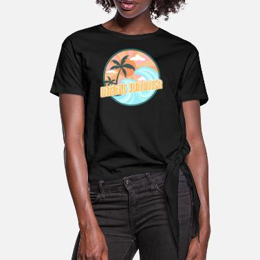Intense Intense summer - Women's Knotted T-Shirt
