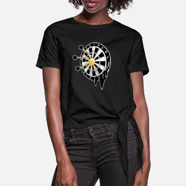 Darts Dartboard Onehundredeighty Bullseye - Knotted T-Shirt