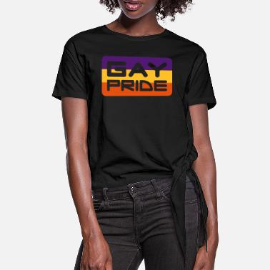 Homosexuality Gay Pride - Women's Knotted T-Shirt