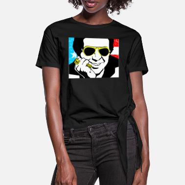Hector Lavoe - Women's Knotted T-Shirt