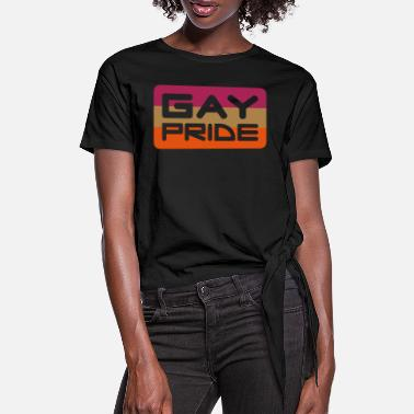 Vector pride - Women's Knotted T-Shirt