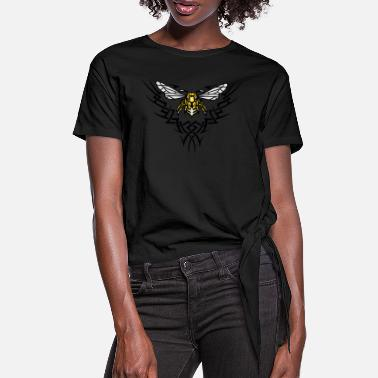 Wasp wasp - Women's Knotted T-Shirt