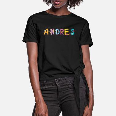 Andres Andres - Frauen Knotenshirt