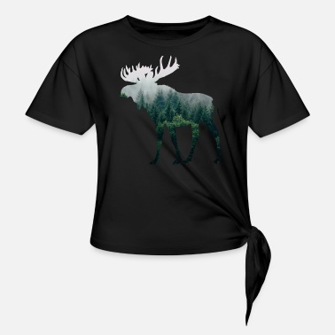 Moose Moose - Knotted T-Shirt