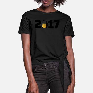 2017 2017 - Women's Knotted T-Shirt