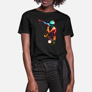 Juggling Diabolo - Women's Knotted T-Shirt