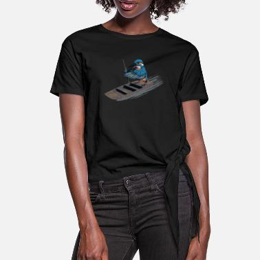Punt Kingfisher - Women's Knotted T-Shirt