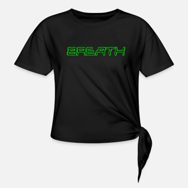 Electronica Electronica Digital Breath green - Knotenshirt