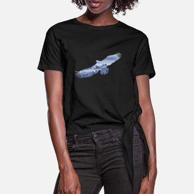 Soar Soar like an Eagle - Frauen Knotenshirt