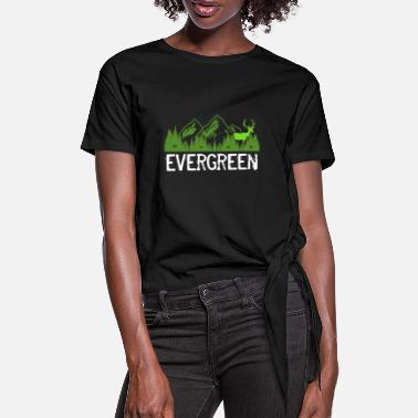 Evergreen Evergreen - Women's Knotted T-Shirt