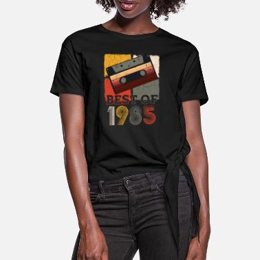 1985 Best of 1985 - Women's Knotted T-Shirt