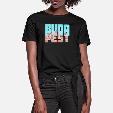 Parliament Budapest Hungary Parliament - Women's Knotted T-Shirt