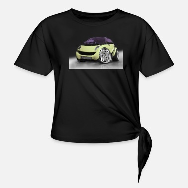 Photo Montage Car tuning, cars, photo montage, Cars - Knotted T-Shirt