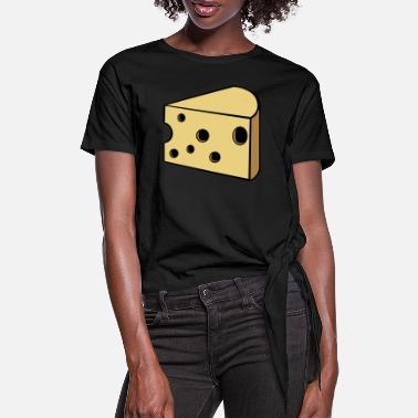 Fromage fromage - T-shirt à nœud Femme