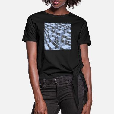 Cityscape Cityscape - Women's Knotted T-Shirt