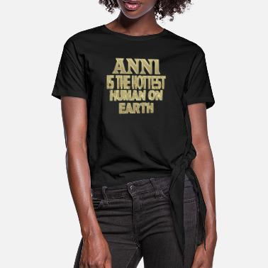 Anni Anni - Women's Knotted T-Shirt