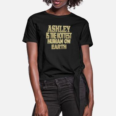 Ashley Ashley - Maglietta annodata da donna