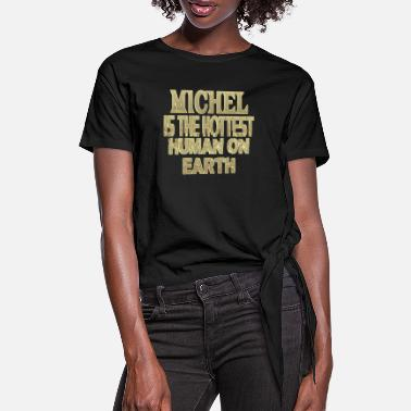 Michel Michel - Women's Knotted T-Shirt