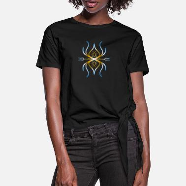 New Age New age symbol - Women's Knotted T-Shirt