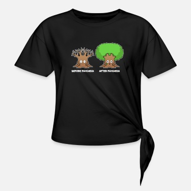 Salary Salary Funny - Knotted T-Shirt