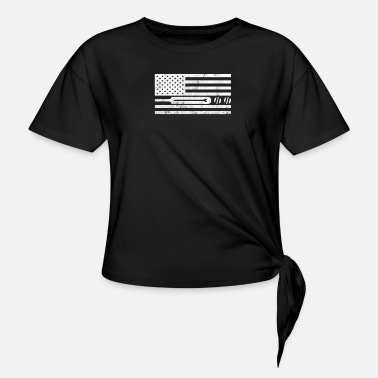 Stars And Stripes Cricket Stars And Stripes - T-shirt med knut