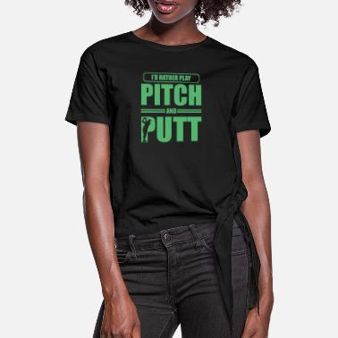 Pitching Putteri Pitch ja Putt Golf Pitch & Putt Pitching - Naisten solmupaita
