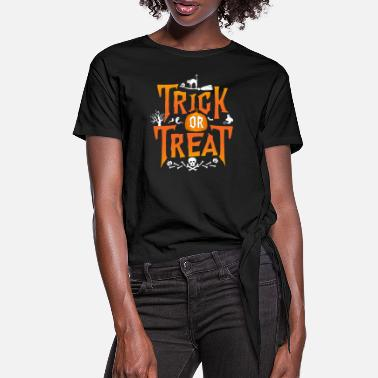 Trick Or Treat Trick Or Treat - T-shirt med knut dam