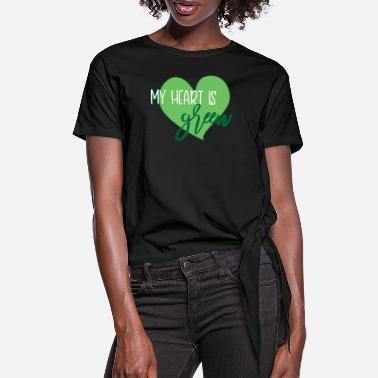 Ecofriendly environmental Protection - Women's Knotted T-Shirt