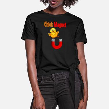 Chick Magnet CHICK MAGNET - Dame knot-shirt