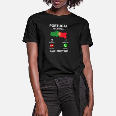 Portugal Portugal - Dame knot-shirt