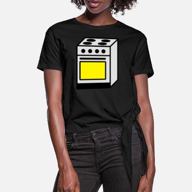 Stove stove - Women's Knotted T-Shirt