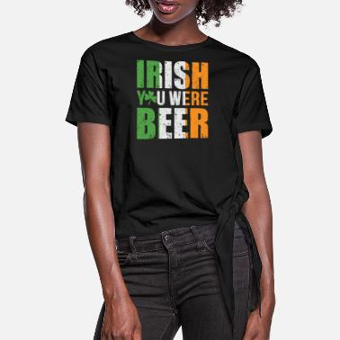Cross Country Irish you were beer - Frauen Knotenshirt