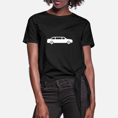 Limousin limousine - Women's Knotted T-Shirt