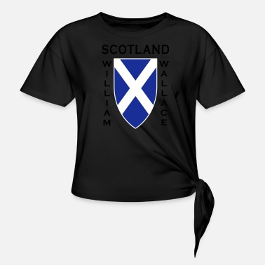 William Wallace Scotland William Wallace II - Knotted T-Shirt
