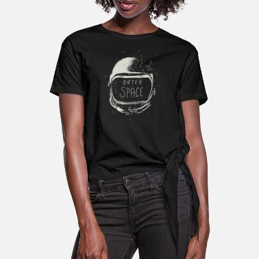 Outerspace Outerspace - Women's Knotted T-Shirt