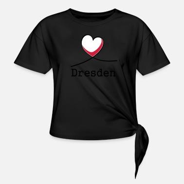 I Love Heart Dresden Black Sweatshirt