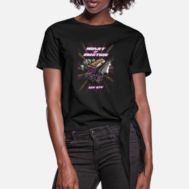 Heart Of Emotion - 2JZ GTE - Women's Knotted T-Shirt