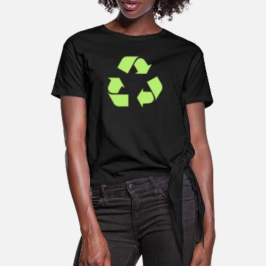 Recycle Recycle - Frauen Knotenshirt