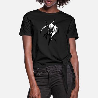 Ripper ripper - Women's Knotted T-Shirt