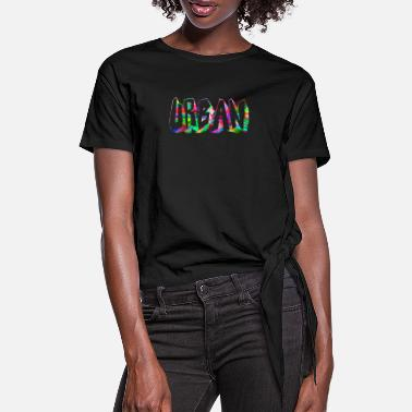 Urban urban in colour - Women's Knotted T-Shirt
