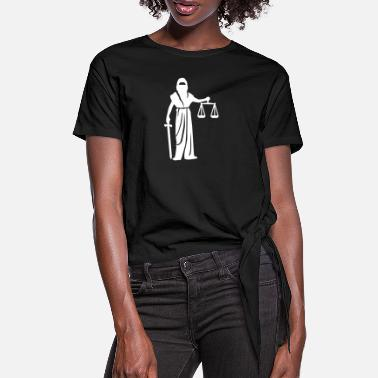 Court Court - Women's Knotted T-Shirt