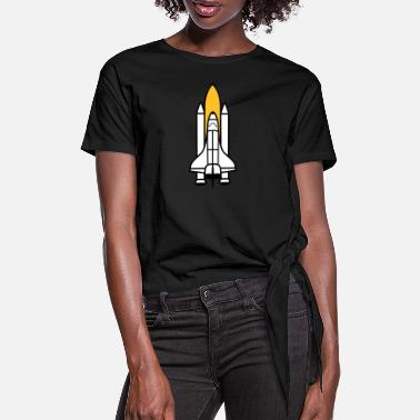 Space Shuttle Space Shuttle | Shuttle - Women's Knotted T-Shirt