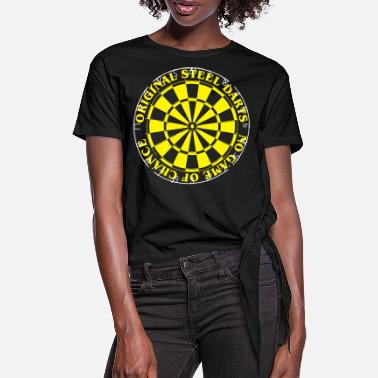 Darts Darts - Women's Knotted T-Shirt