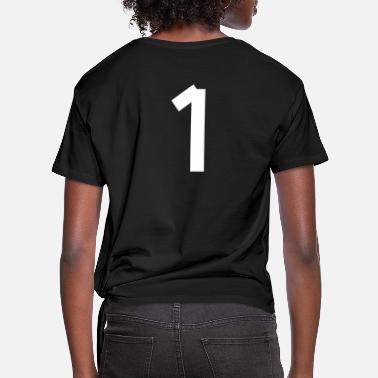 Number Number 1 - Women's Knotted T-Shirt