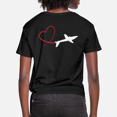 Sailplane sailplane fox glider - Knotted T-Shirt