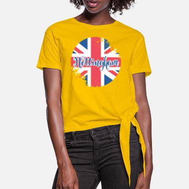 Nottingham Button Nottingham - Women's Knotted T-Shirt